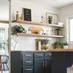 Wood Shelves Kitchen Sink Drain The Ugly Truths How I Cut Corners With Shelving Floating In