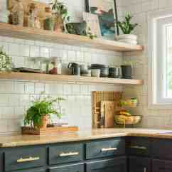 Kitchen Cabinet Shelving Cost Diy Open Guide Bigger Than The Three Of Us