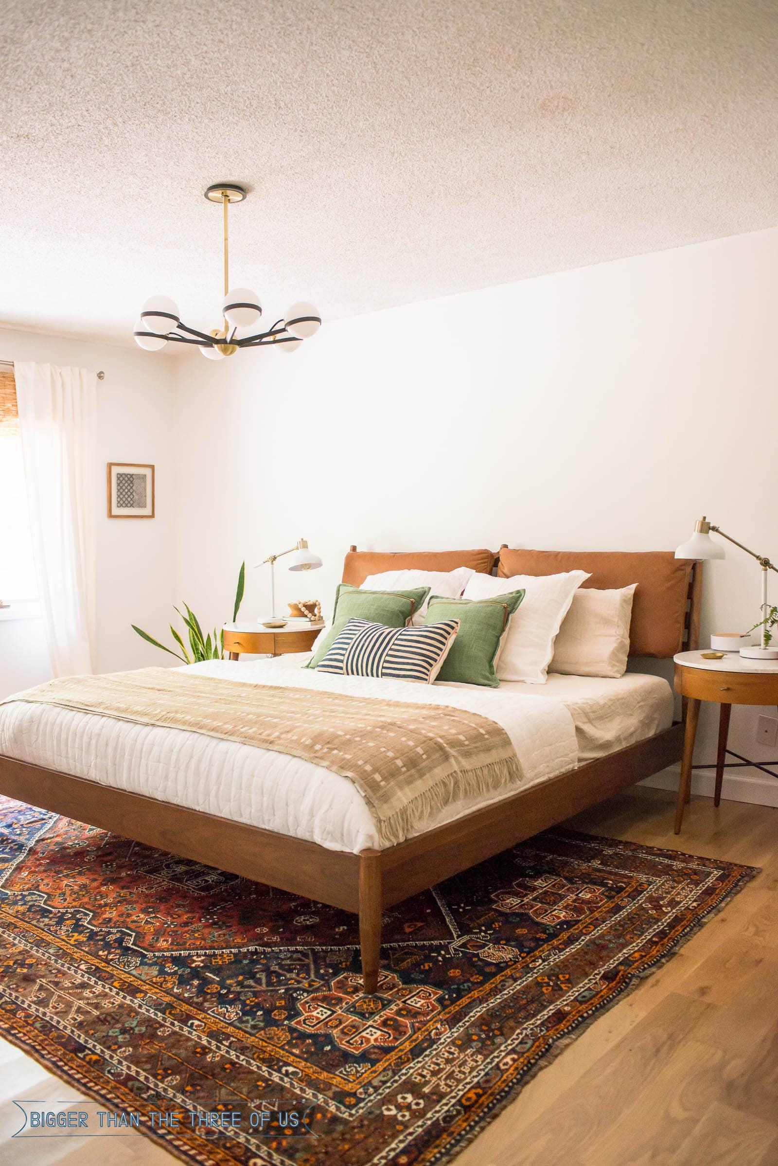 Mid Century Modern Bedroom Bigger Than The Three Of Us