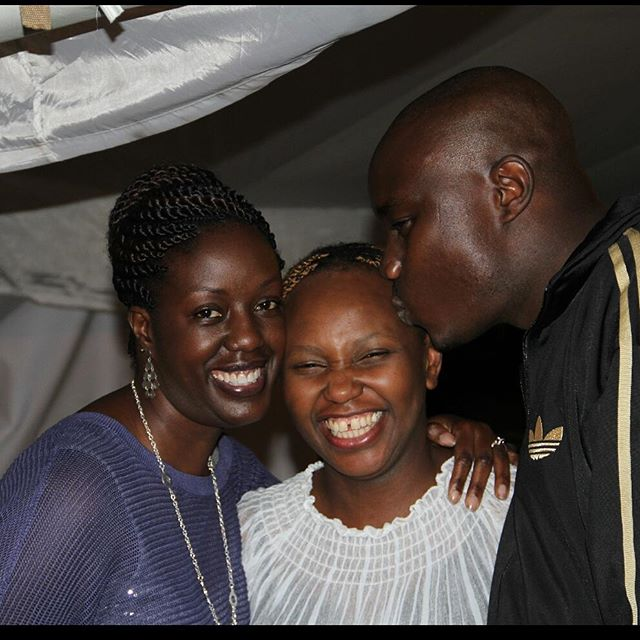From Left to right: Rosemary Odinga, Carol Radull and Fidel Odinga | Instagram