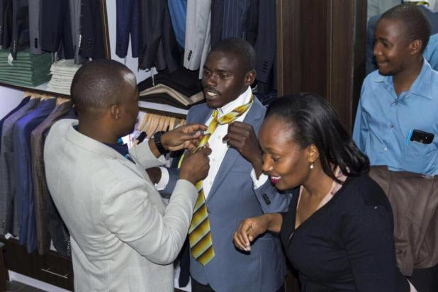 MC Jessy takes Igembe South MP John Paul Mwirigi on a shopping  spree(photos) » Biggest Kaka