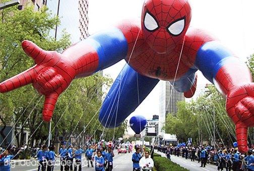 Spiderman Helium Parade Balloon Mexico City, MX