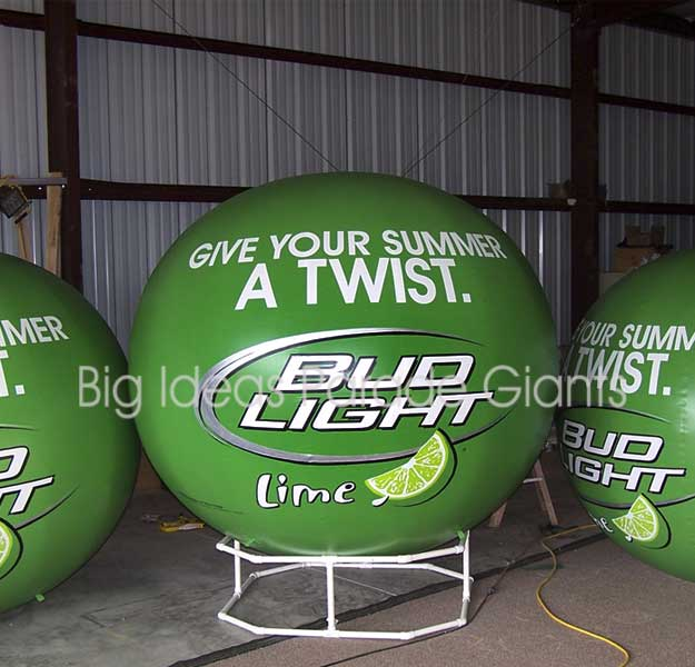 Bud Light Twist - Lime Helium Spheres