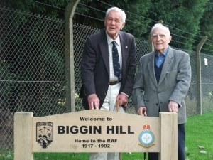 Biggin Hill Welcome Sign