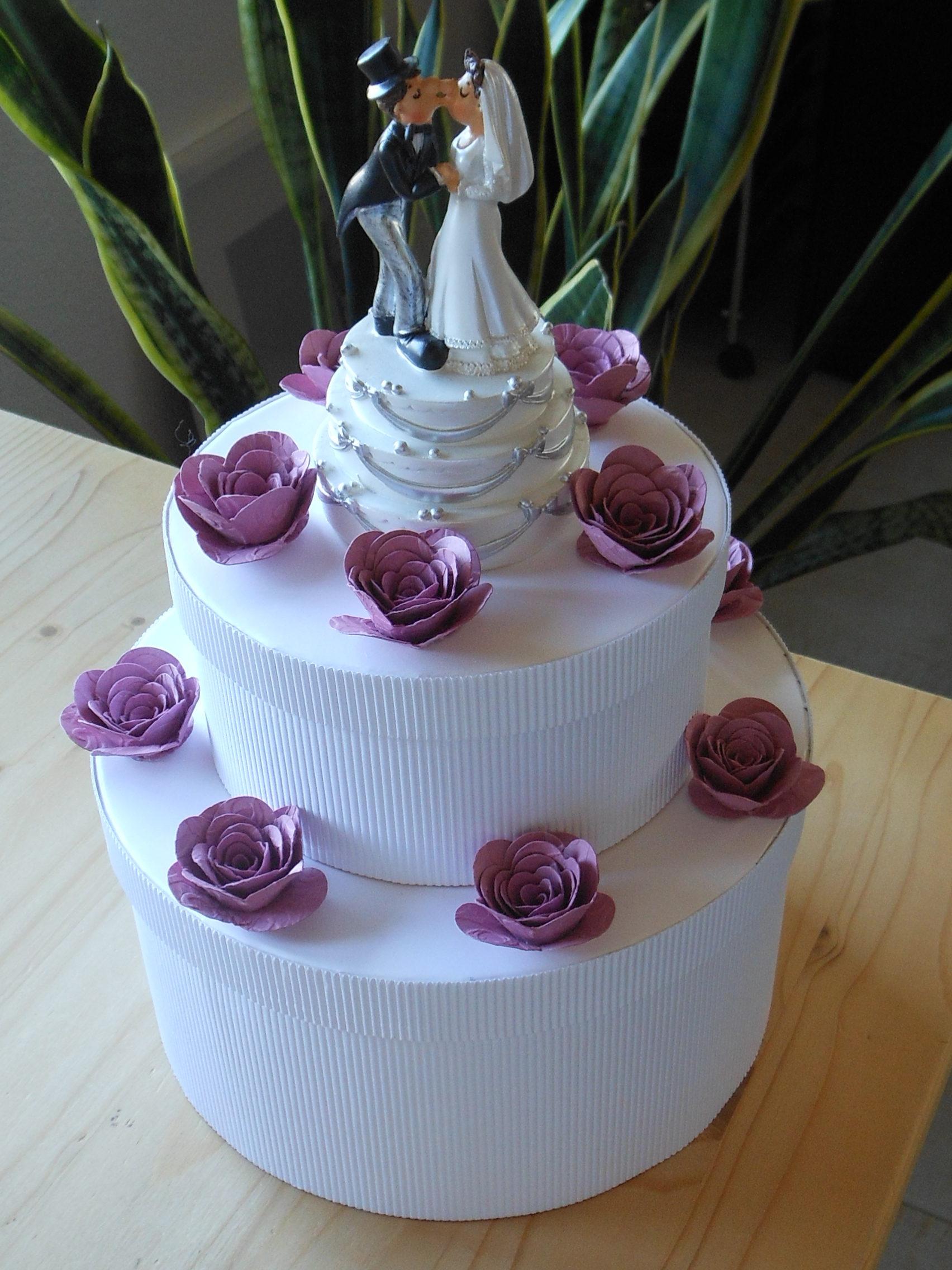 Hochzeitstorte Mit Geld Basteln  Kuchen Bild Idee