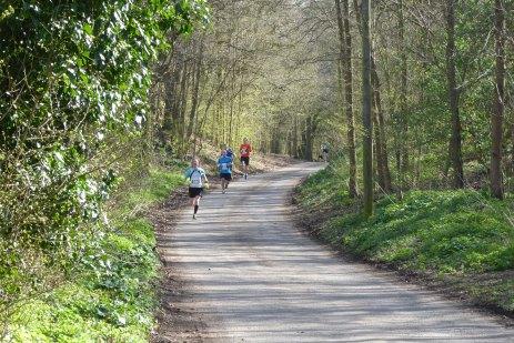 Back through the sandhills towards the final mile marker. Photo: Stuart Goodwin