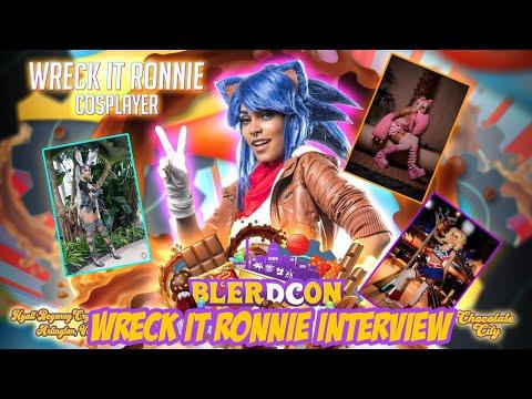 Wreck it Ronnie – Interview (2021)   Blerdcon 2021