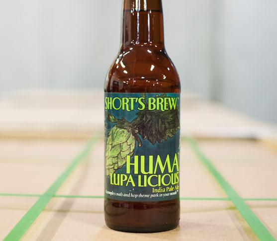 Huma Lupa Licious by Short's Brewing