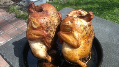 Big Green Egg Vertical Chicken