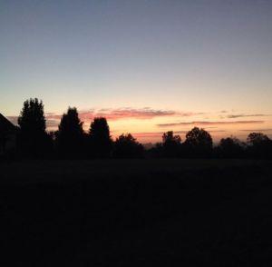Sunrises make these morning runs worth the effort.