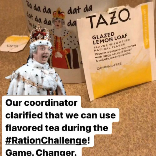 Ration Challenge 2021: Help for refugees and a personal reset