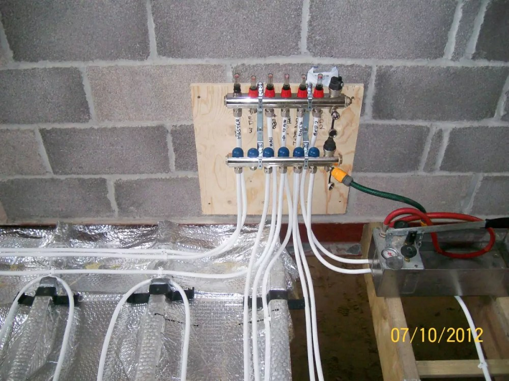 medium resolution of underfloor heating installation