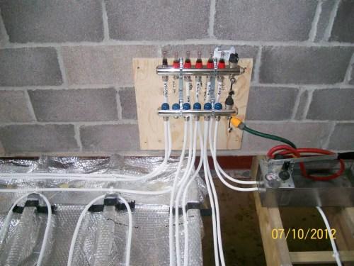 small resolution of underfloor heating installation