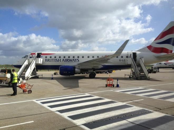 My private BA Embraer 170 jet