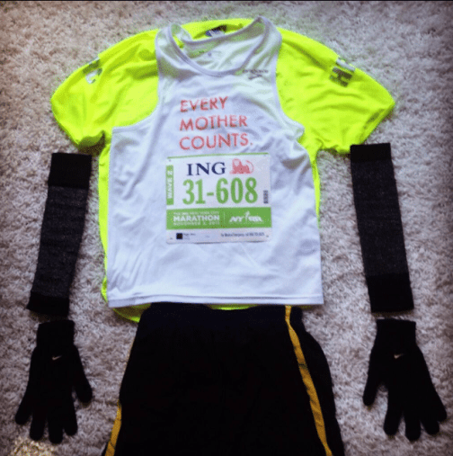 My Every Mother Counts Marathon Kit