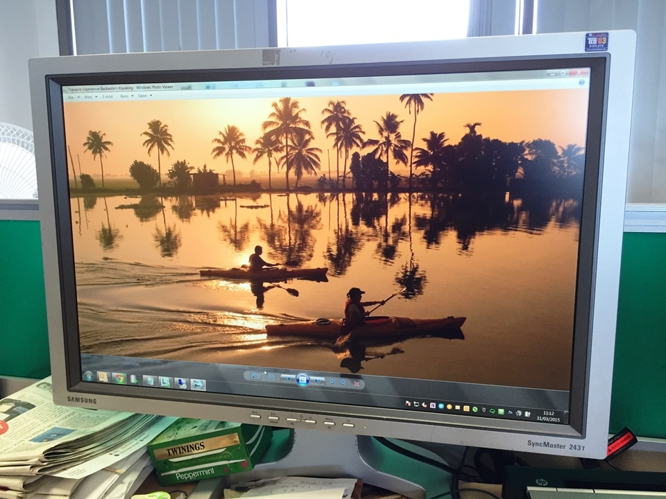 The Inspirational Backwaters Screensaver