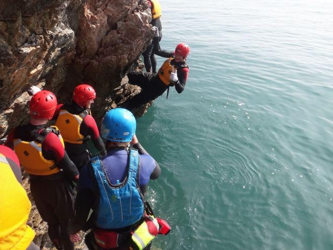 Coasteering - Rock Traversing