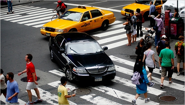 New York Honking Taxis