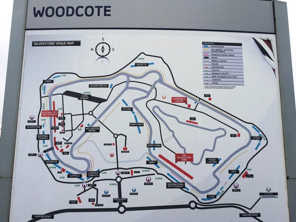 Silverstone Circuit Map