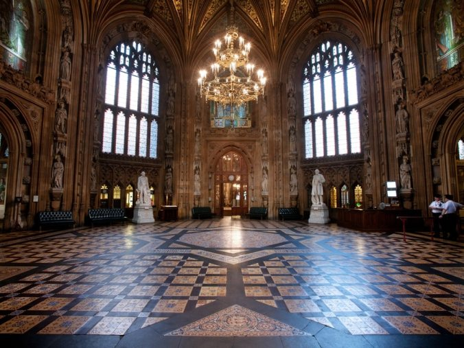 The Central Lobby Palace of Westminster