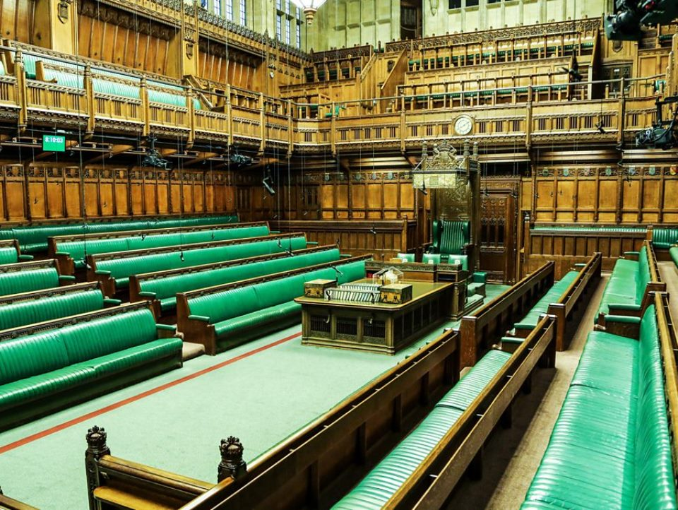 The House of Commons. Photo: BBC website