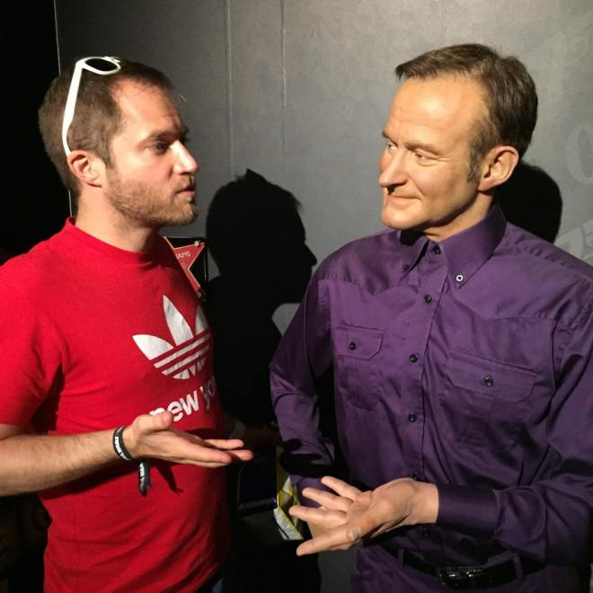 Having a chat with Robin Williams