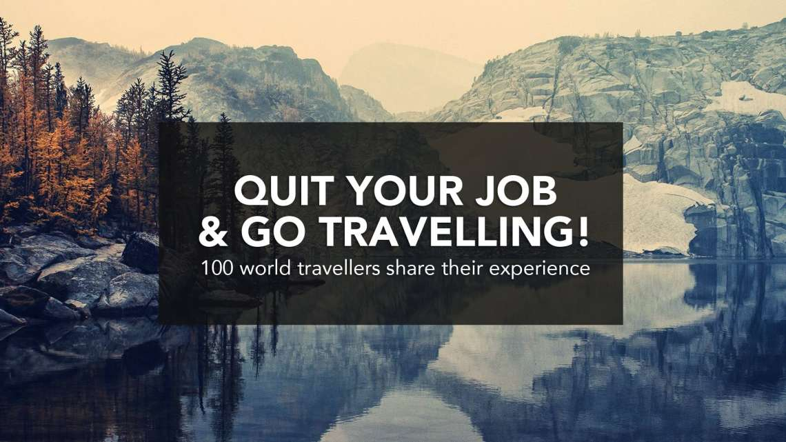 Don't go travel blogging around the world