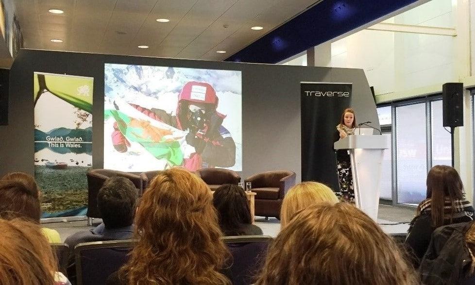 Being inspired by Everest summiter Tori Jones