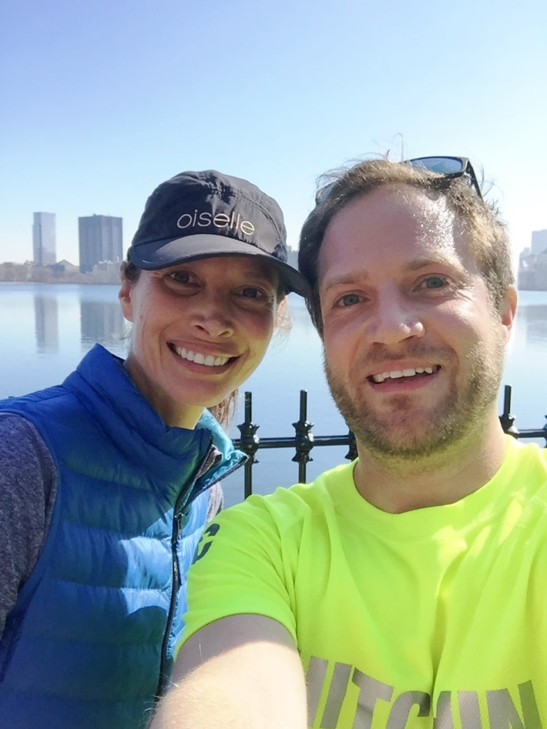 Running 8 miles around New Central Park with Christy Turlington