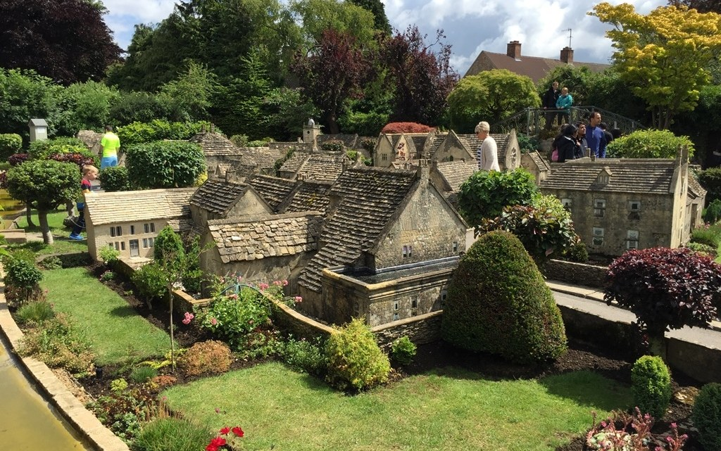 The model village in the beautiful Cotswolds