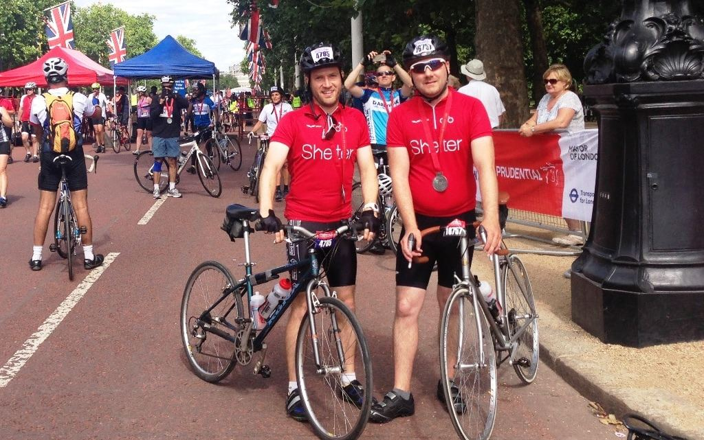 Cycling the RideLondon 100