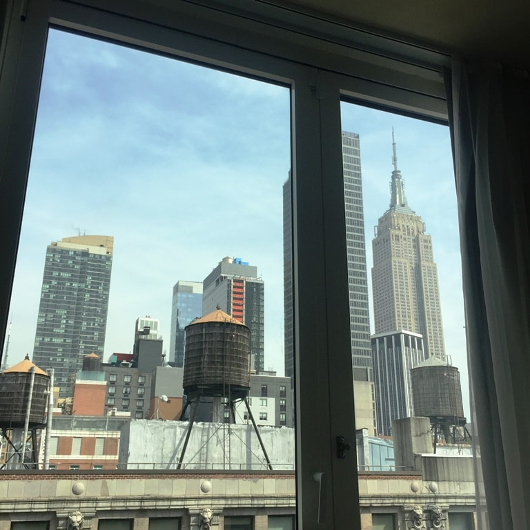 Room with an empire view!