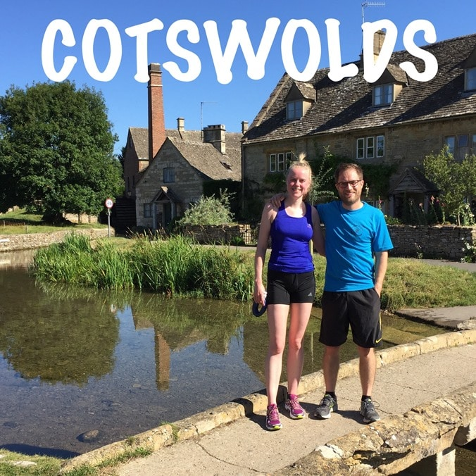 Back from a run around the beautiful little village of Lower Slaughter
