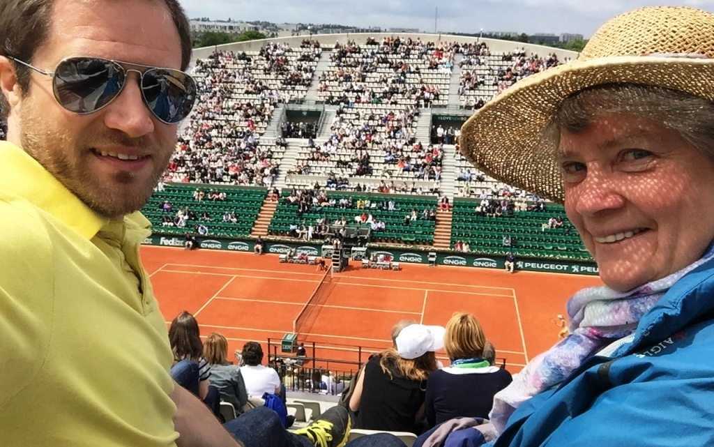 Trying the French Open instead of Wimbledon
