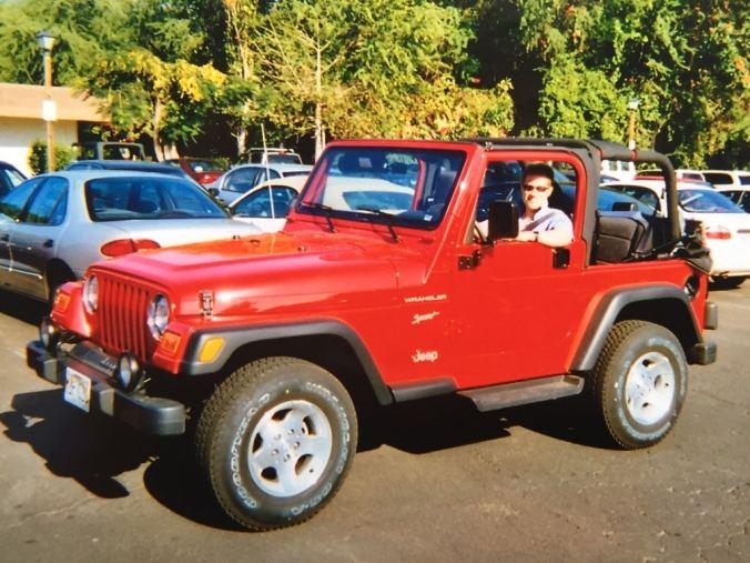 Driving a 4 litre Jeep around Maui