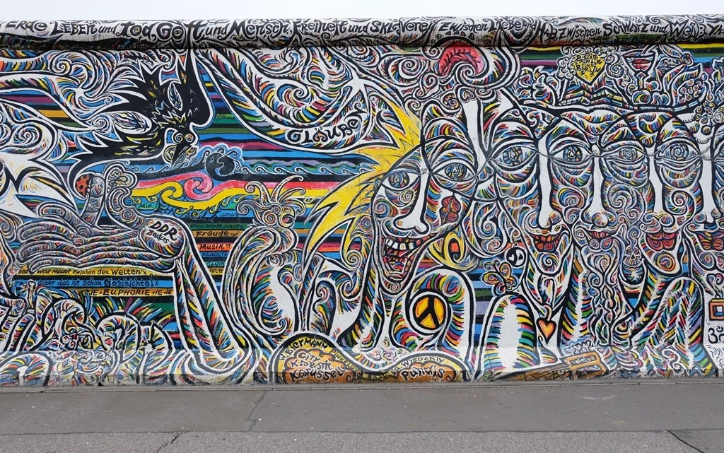The East Side Gallery open-air art gallery – Berlin