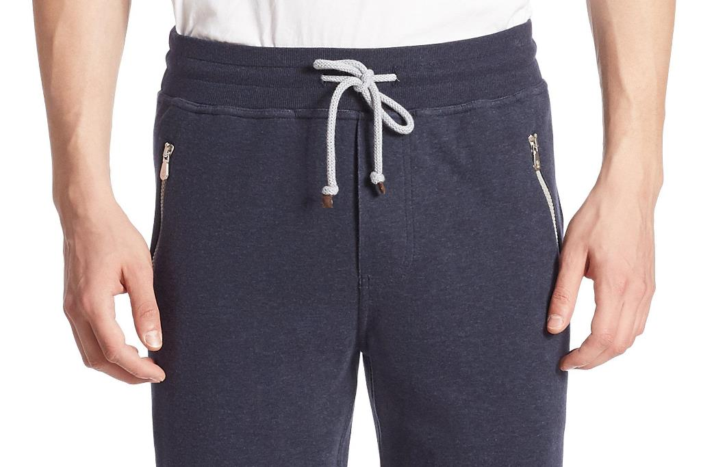 Zipped trouser pockets - not pickpocket proof though