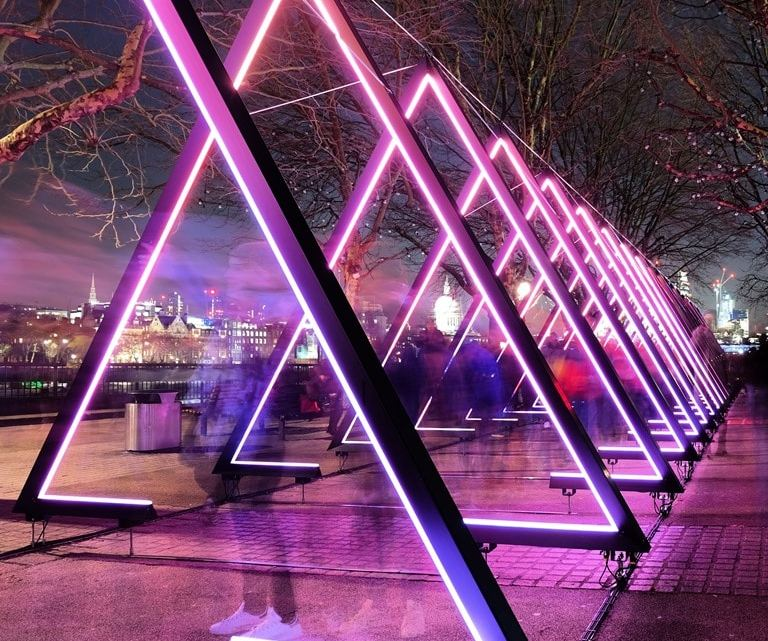Lumiere London – visit this illuminating festival