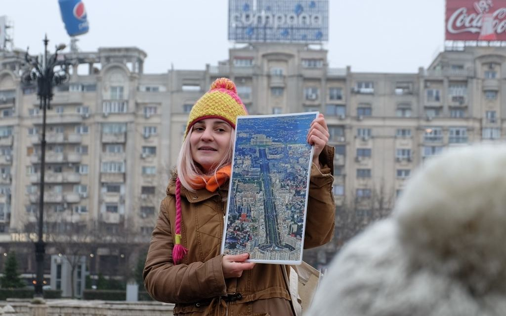 Joining a Bucharest walking tour in Romania