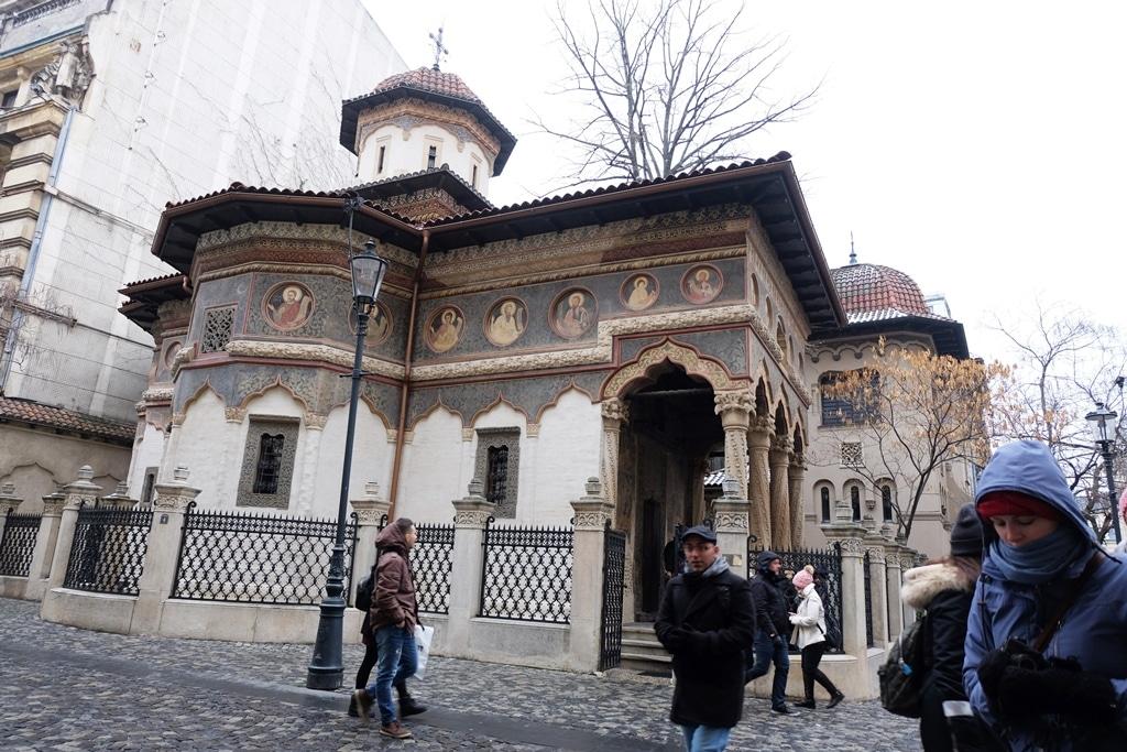The nunnery aka Stavropoleos Convent