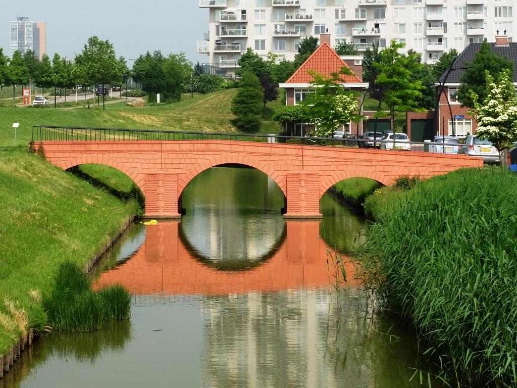 Where are the Euro banknote bridges?