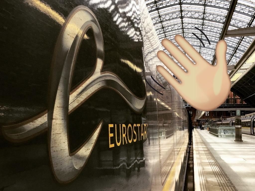 When you miss the last Eurostar train home!