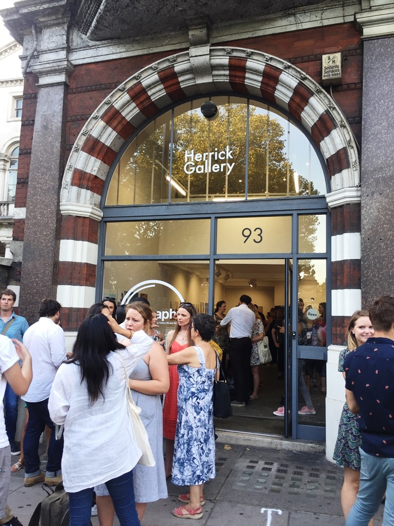 The Herrick Gallery closing party VIP event