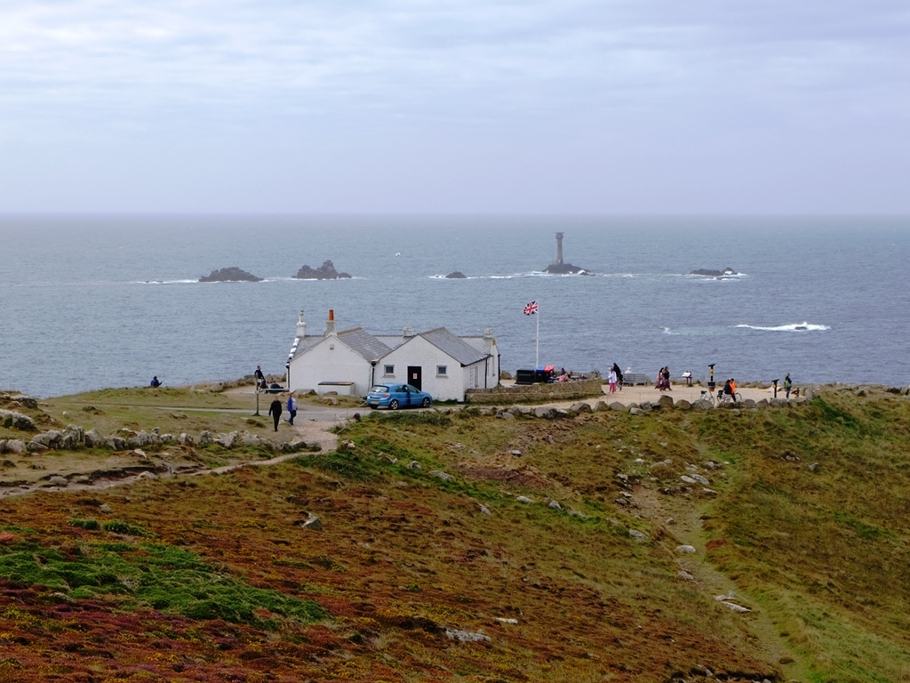 Land's End comes into view!