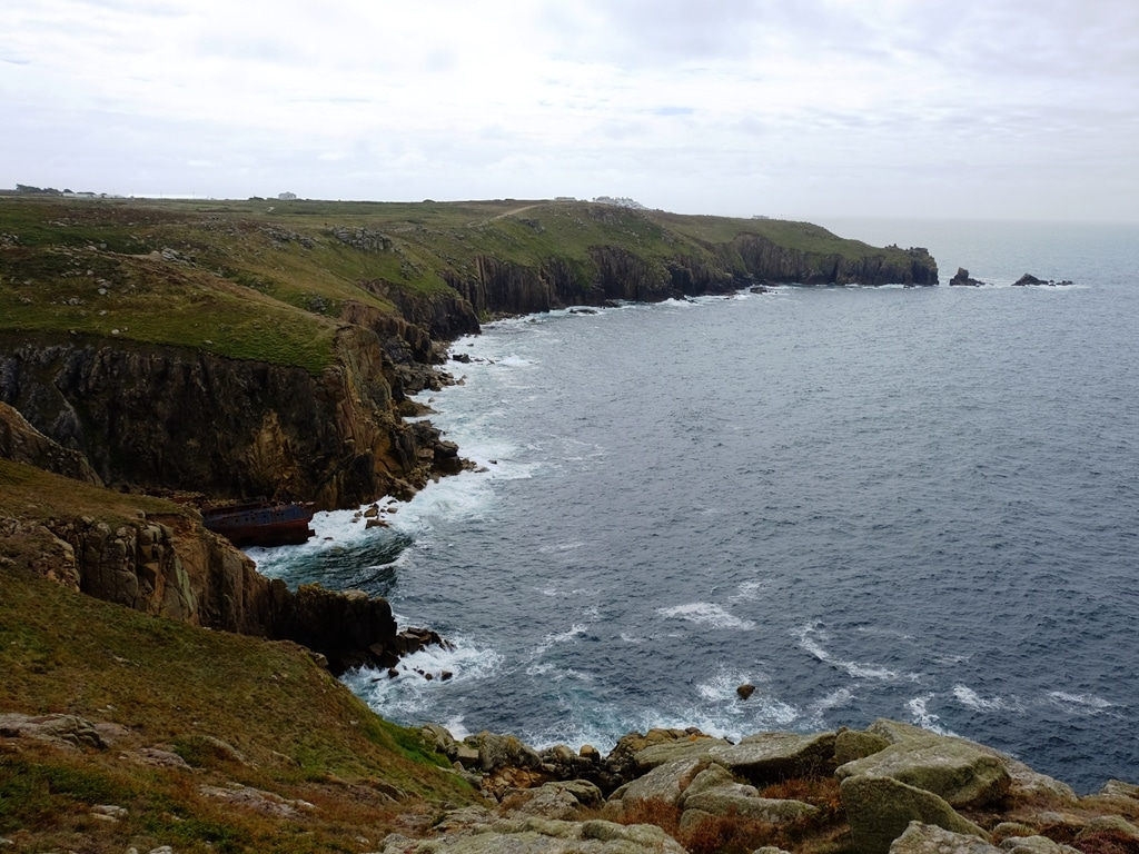 The SW Coastal walk view of Land's End