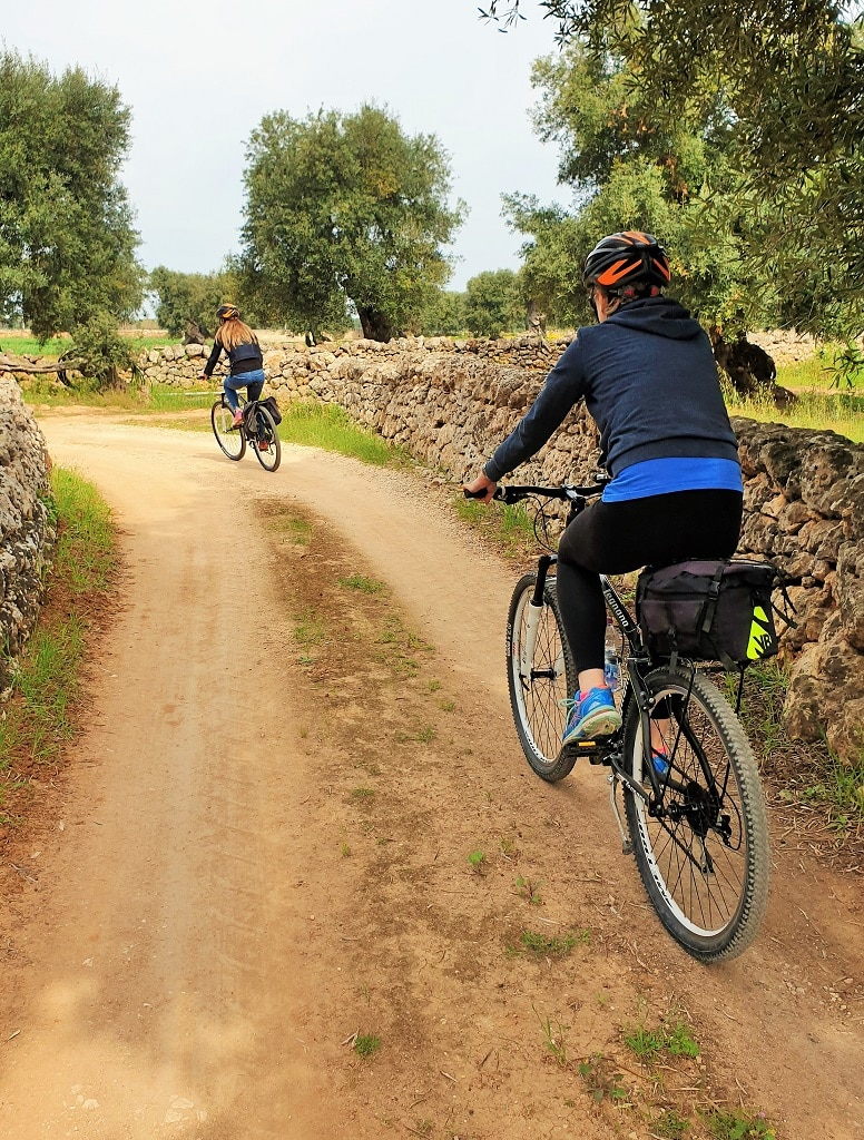 Cycling among the ancient olive trees - Puglia