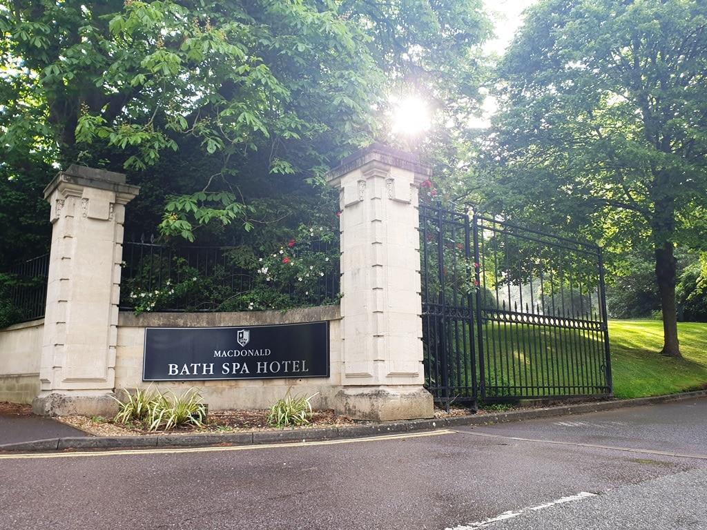 MacDonald Bath Spa Hotel: perfect for couples