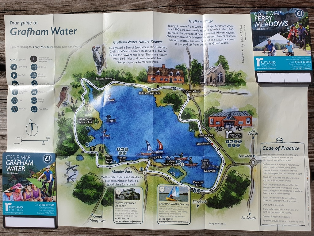 Grafham Water £1 map