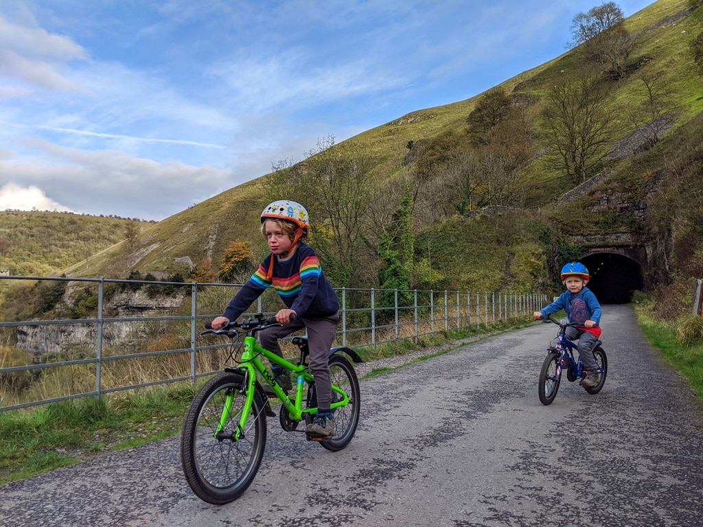 The Monsal Trail with Peak District Kids