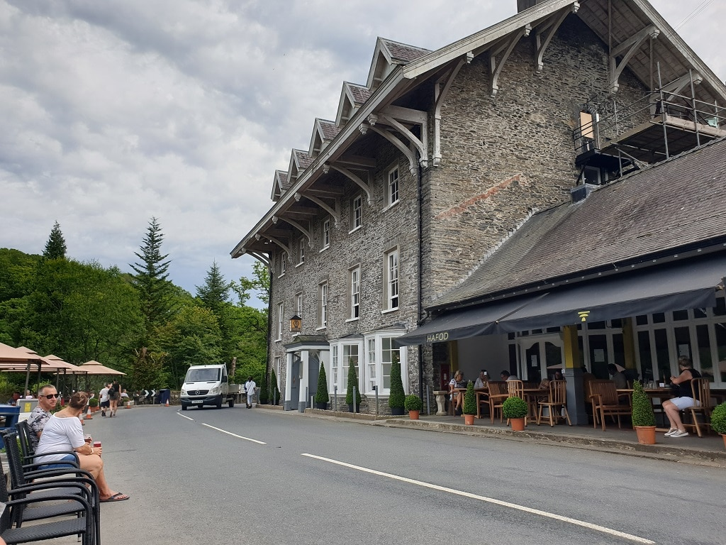 The Hafod Hotel at Devil's Bridge